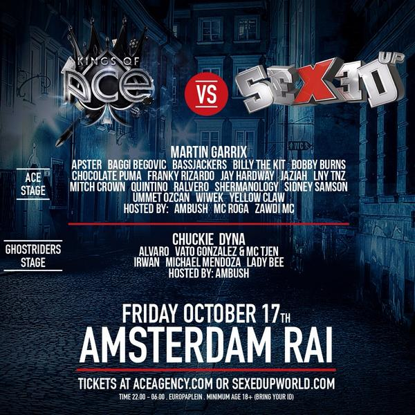 download → Chuckie - Live at Kings of Acs vs Sexed Up Amsterdam RAI NL, 720p Stream - 17-Oct-2014