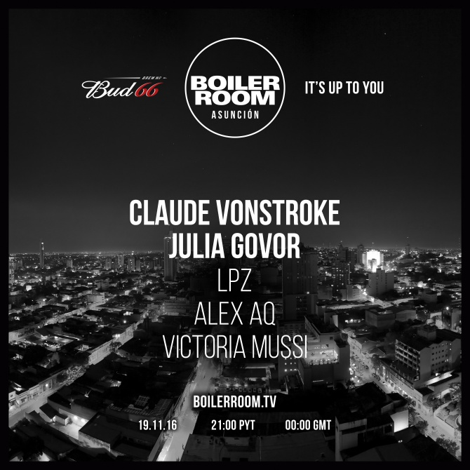 download → Claude Vonstroke - live at Boiler Room Asuncion - 19-Nov-2016