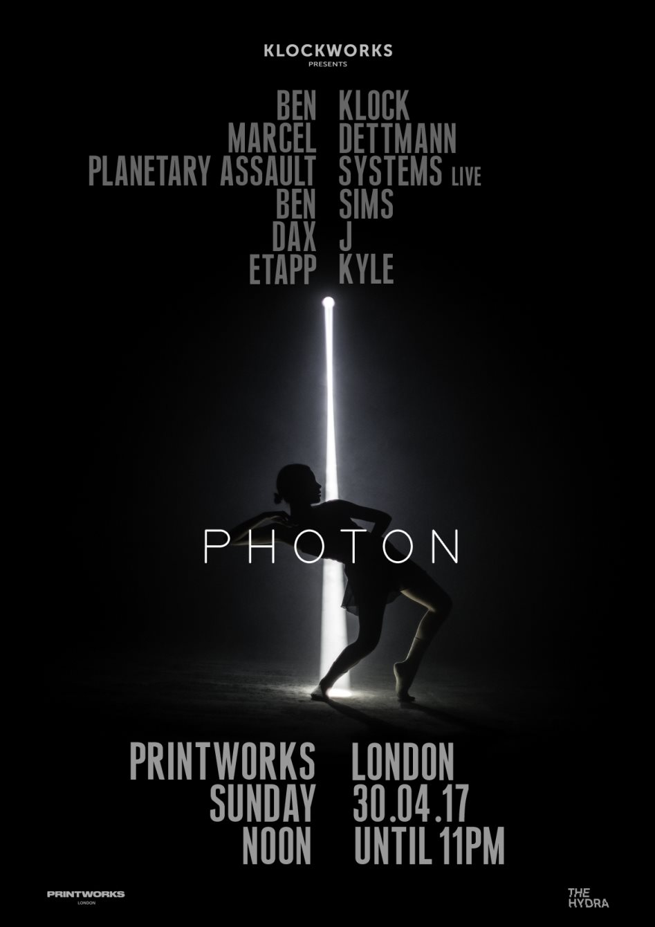 Ben Klock - live at Clockwork presents Photon (Printworks, London) - 30-Apr-2017
