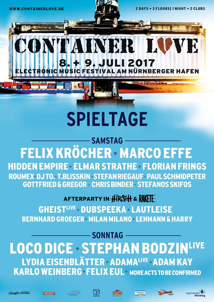 download → Lydia Eisenblatter - live at Container Love Festival 2017 (Germany) - July 2017