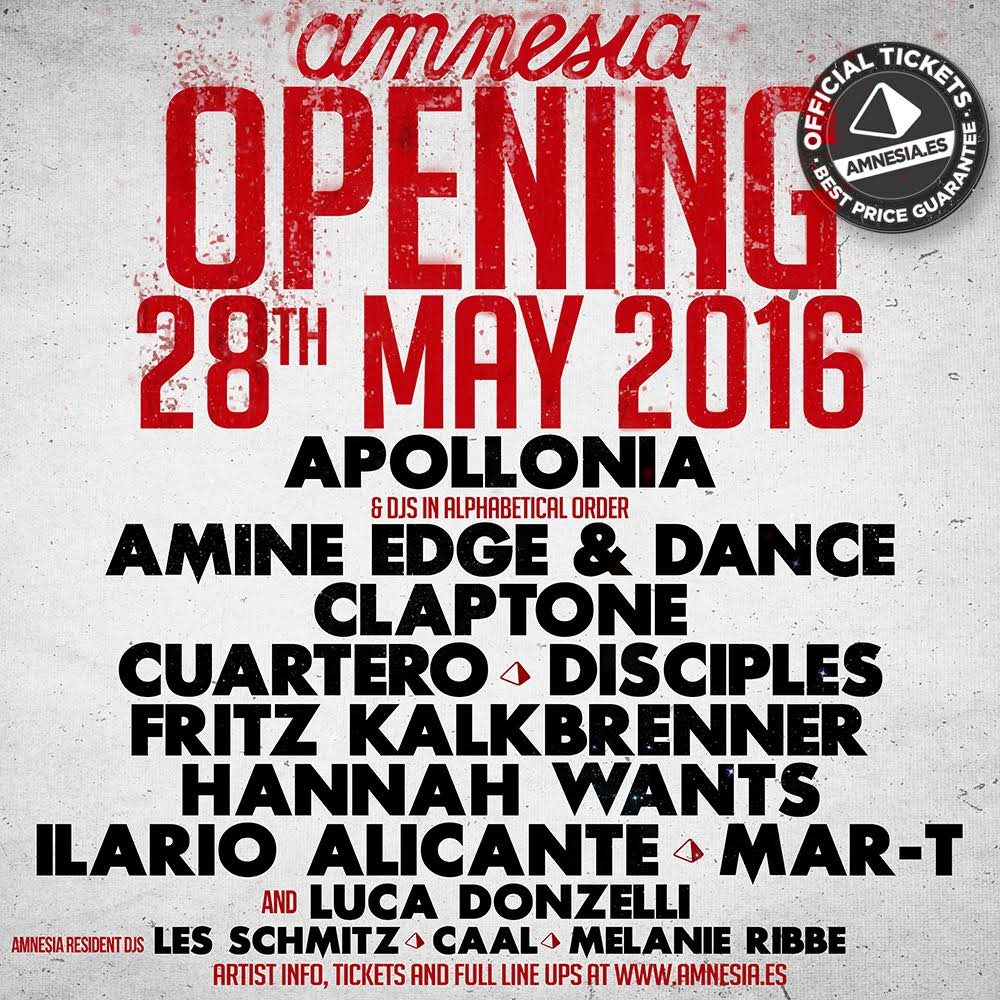download → Cuartero B2b Mar-T - Live at Amnesia Ibiza (2016 Opening Party) - 28-May-2016