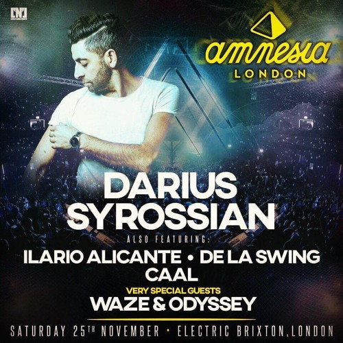 download → Darius Syrossian - live at Amnesia Ibiza Tour (Brixton, London) - November 2017