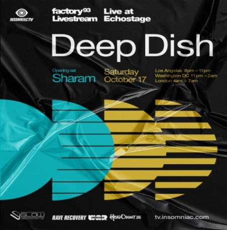 download → Sharam & Deep Dish - Live @ The Echostage Factory 93 (Washington D.C, United States) - 17-Oct-2020