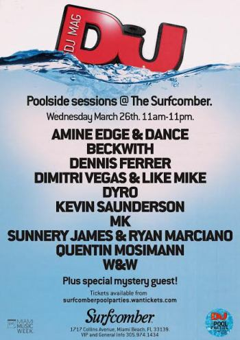 download → Kevin Saunderson  -  Live At DJ Mag Poolside Sessions, The Surfcomber (WMC 2014, Miami)  - 26-Mar-2014