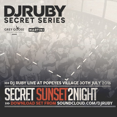 download → DJ Ruby - Live at Secret Sunset to Night Party (Popeyes Village, Malta) - 30-Jul-2016