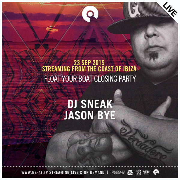 download → DJ Sneak - live at Float Your Boat Closing Party, Ibiza - 23-Sep-2015
