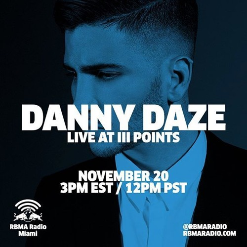 Danny Daze - Live at Ill Points Festival 2015, Miami (RBMA) - 20-Nov-2015
