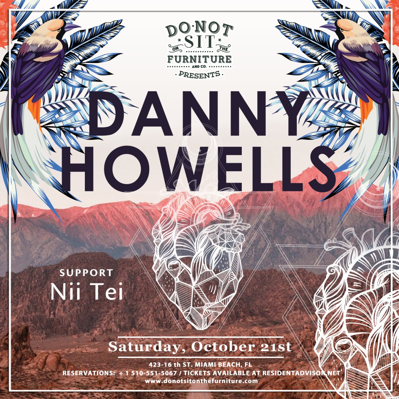 Danny Howells - Live At  Do Not Sit On The Furniture (Miami) Part 2 - 21-Oct-2017