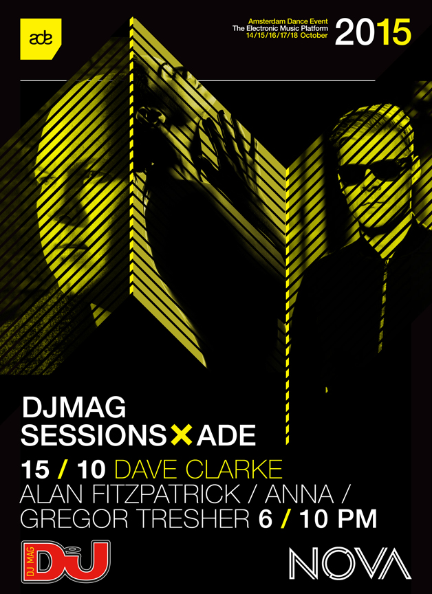 download → Dave Clarke, Alan Fitzpatrick, ANNA & Gregor Tresher - live at DJ Mag Sessions, Dave Clarke Takeover, ADE 2015 - 15-Oct-2015