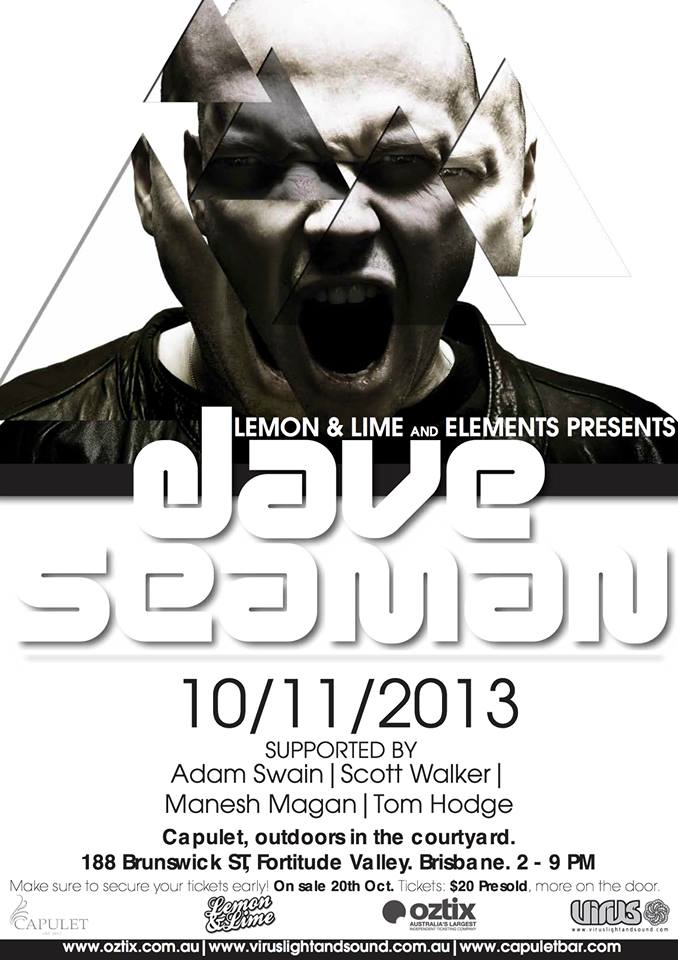 download → Dave Seaman - Capulet, Brisbane, Australia - 720p HD - 10-Nov-2013
