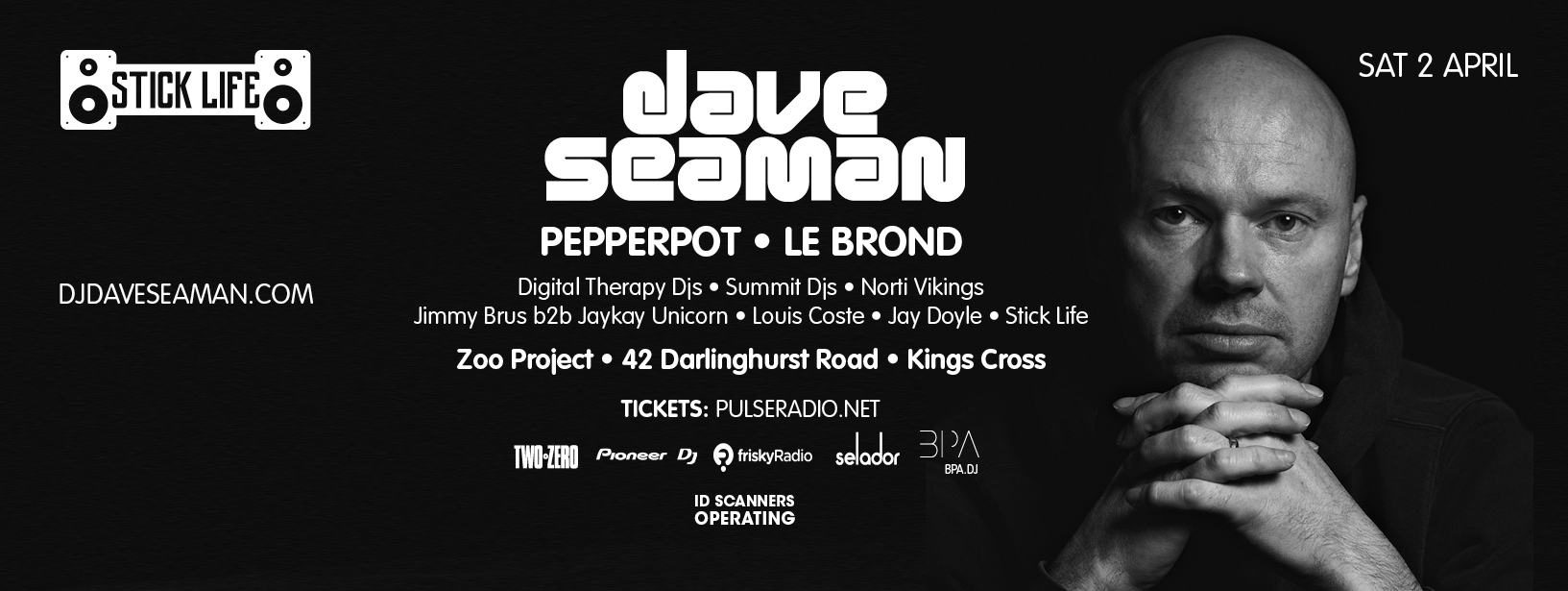download → Dave Seaman - Live at Stick Life, Zoo Project (Sydney, Australia) - 02-Apr-2016