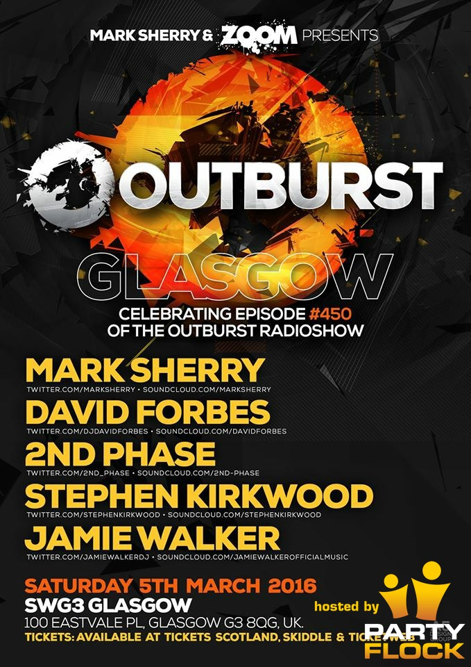 download → David Forbes - live at Outburst GLA (SWG3 Warehouse, Glasgow) - 05-Mar-2016