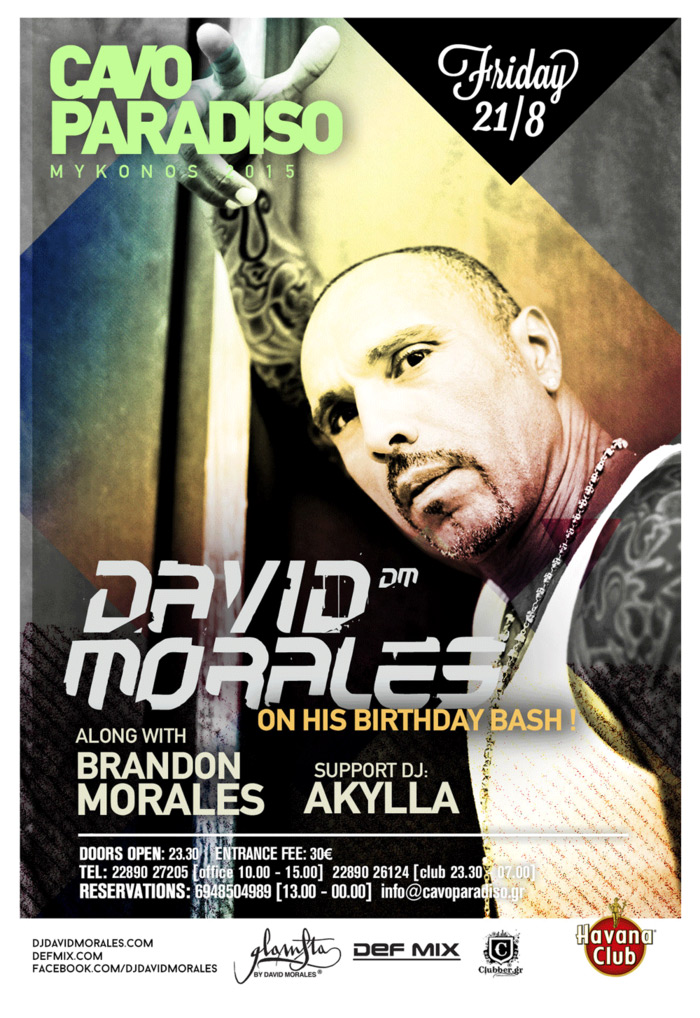 download → David Morales (Birthday Bash) - live at Cavo Paradiso, Mykonos - 21-Aug-2015