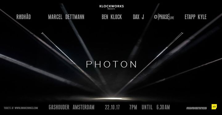 download → Dax J - live at Awakenings x Klockworks Presents Photon (ADE 2017) - 22-Oct-2017