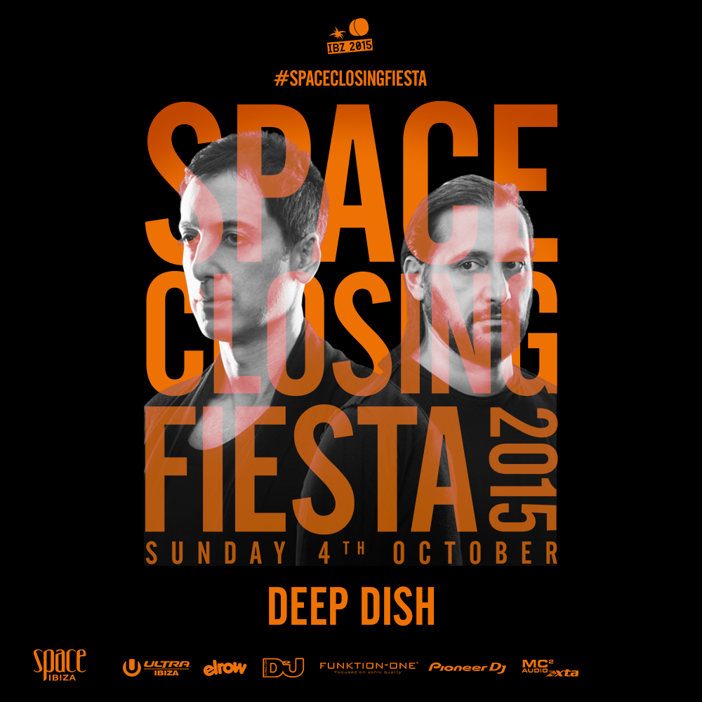 download → Deep Dish - live at Space Closing Fiesta 2015, Terrace, Space, Ibiza - 04-Oct-2015
