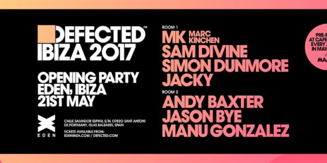 download → Sam Divine - live at Defected Ibiza 2017 Opening Party (Eden, Ibiza) - 21-May-2017