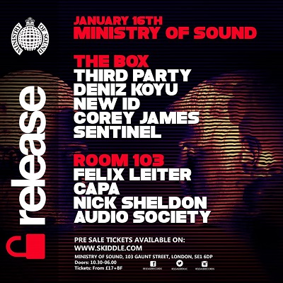 download → Corey James - Live at Ministry of Sound (London) - 16-Jan-2016