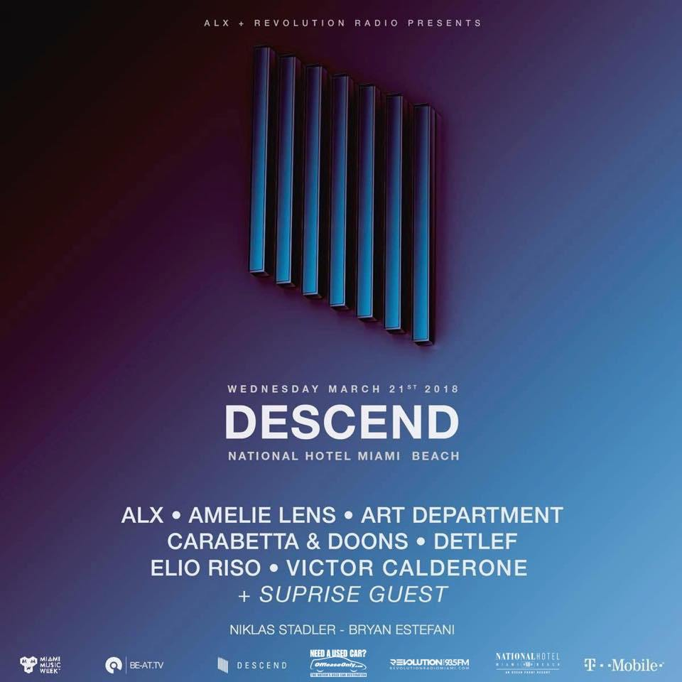 download → Victor Calderone, Dance Department, Detlef - Descend - MMW 2018 Miami - 21-Mar-2018