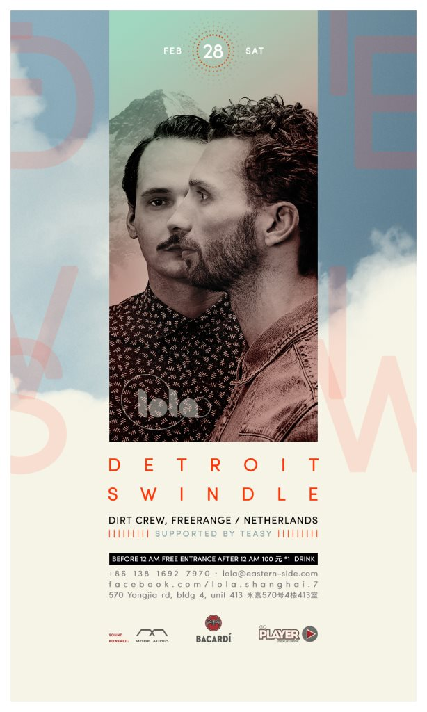 download → Detroit Swindle - live at Lola Club (Shanghai) - 28-Feb-2015
