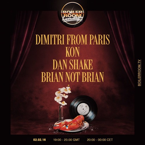 download → Dimitri From Paris - live at Boiler Room London - 02-Feb-2016