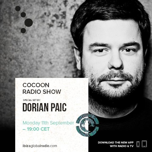 download → Dorian Paic - Coocoon Ibiza Radio Show - 11-Sep-2017