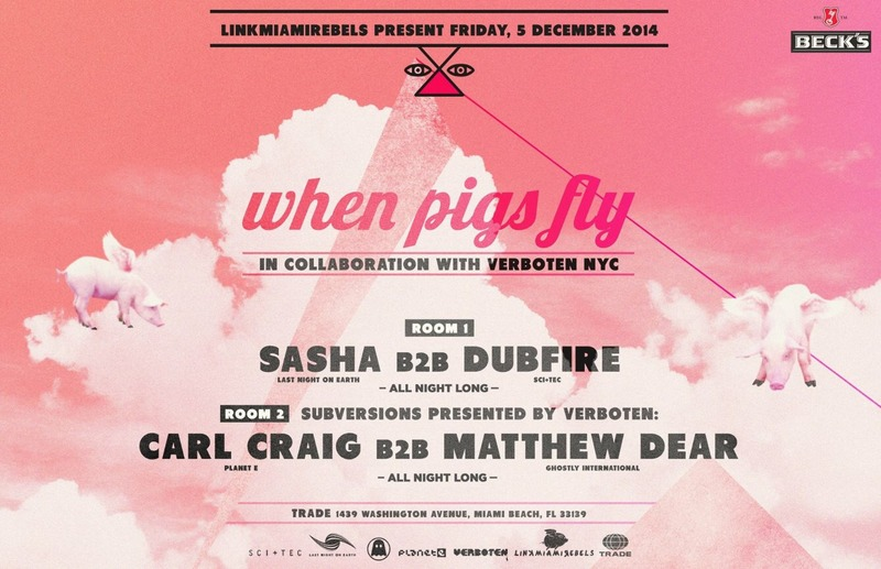 download → SASHA b2b DUBFIRE - live at Trade, Miami - 05-Dec-2014