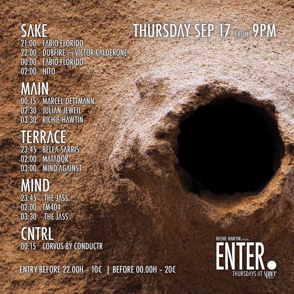 download → Dubfire b2b Victor Calderone - Live At ENTER.Sake, Week 12 (CLOSING), Space (Ibiza) - 18-Sep-2015