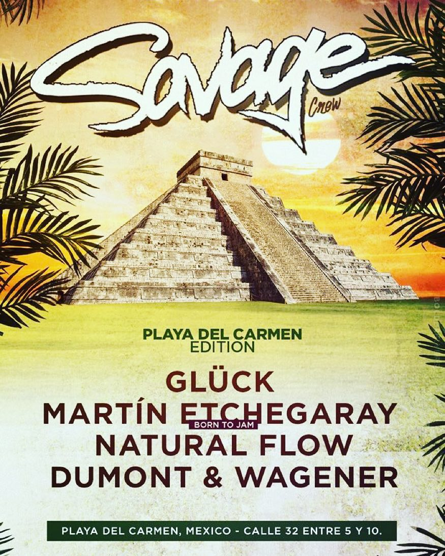 download → Dumont & Wagener - live at Savage Showcase, Mezcalinna (The BPM 2016, Mexico) - 09-Jan-2016