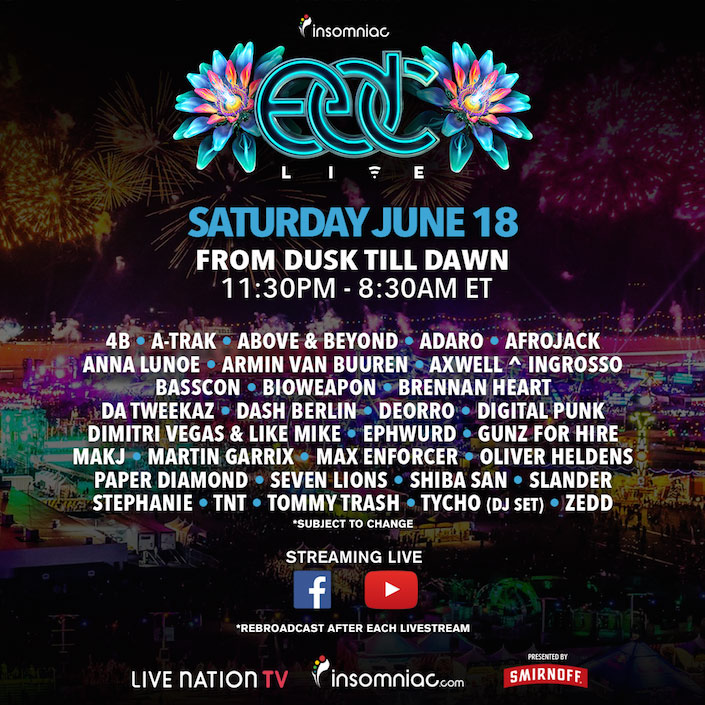 Zedd - live at EDC 2016 Las Vegas (Cosmic Meadow) - 19-Jun-2016