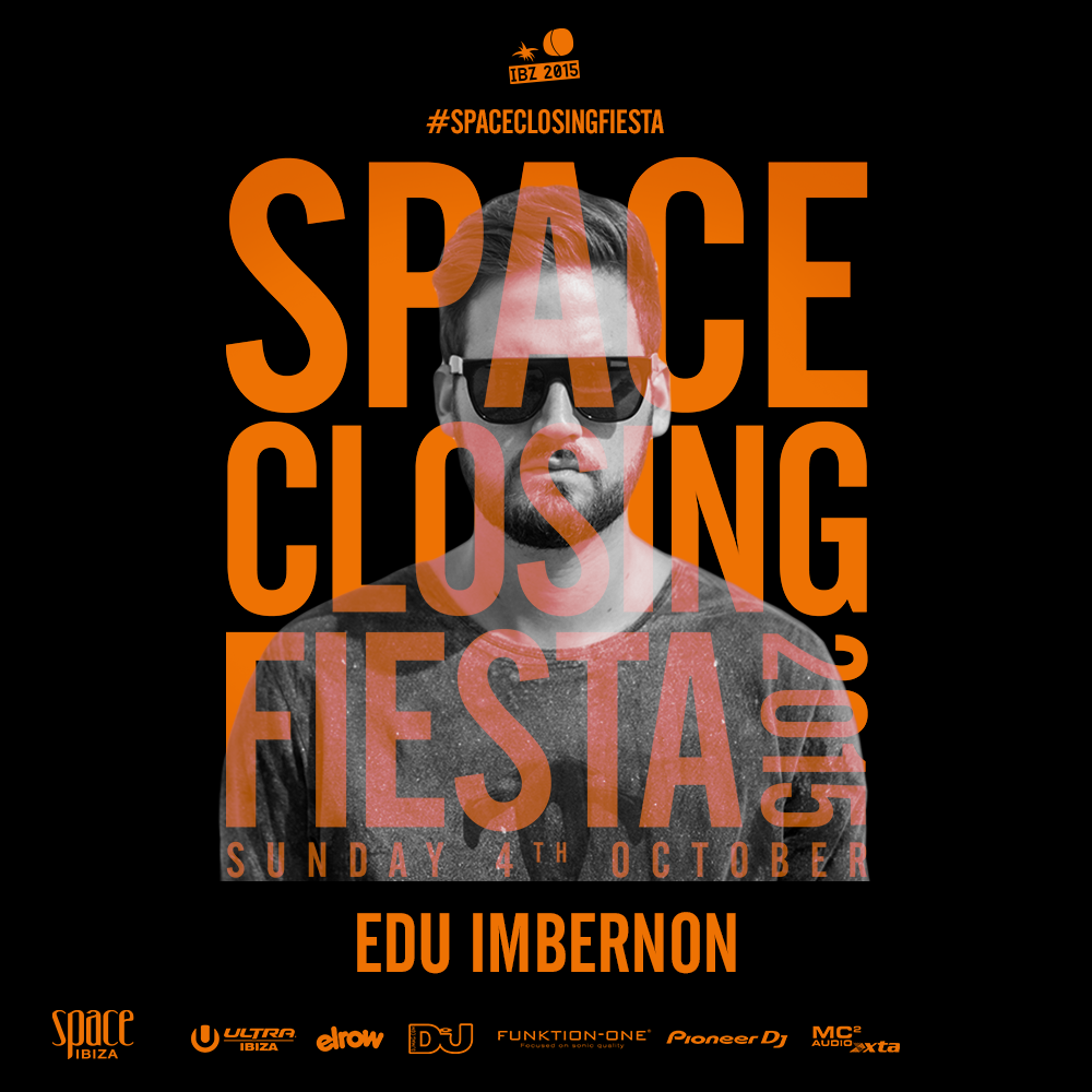 download → Edu Imbernon - live at Space Closing Fiesta 2015, Main Room, Space, Ibiza - 04-Oct-2015