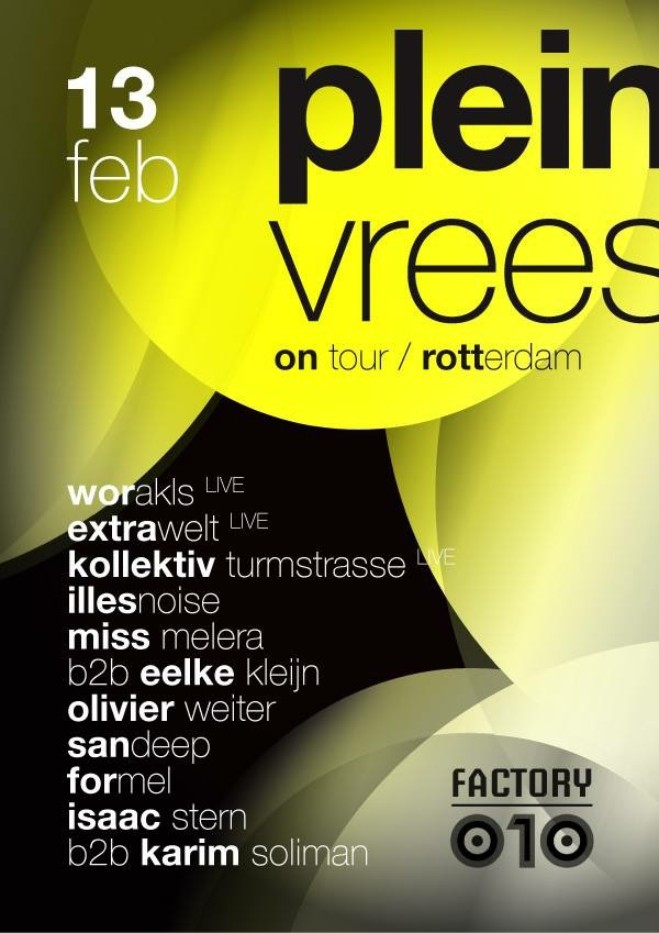 download → Eelke Kleijn B2B Miss Melera - Live at Pleinvrees on Tour (Factory 010) - 14-Feb-2015