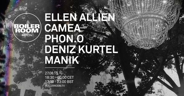 download → Ellen Allien - live at Boiler Room, Berlin - 27-Aug-2015