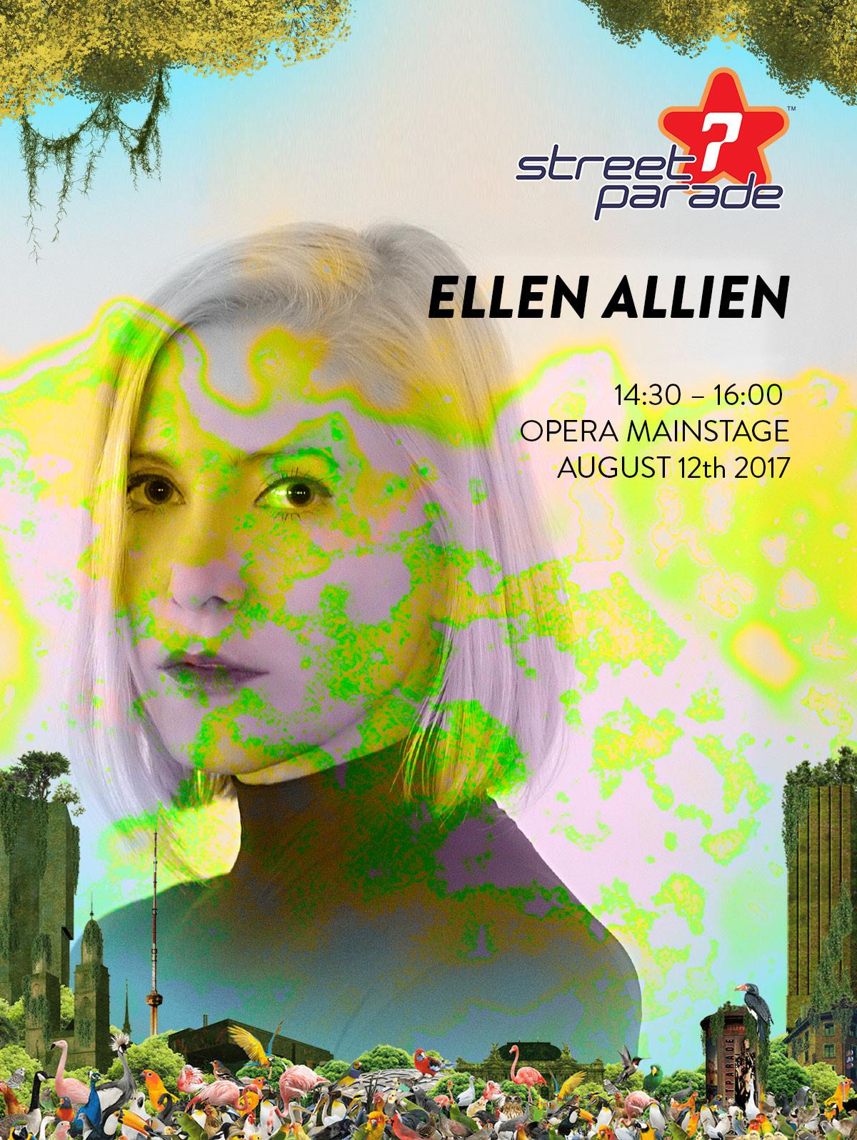download → Ellen Allien - live at Street Parade 2017 (Zurich) - 12-Aug-2017