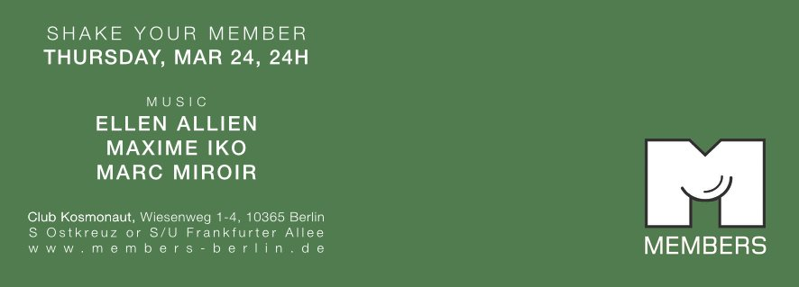 download → Ellen Allien - live at Members (Berlin) - 24-Mar-2016