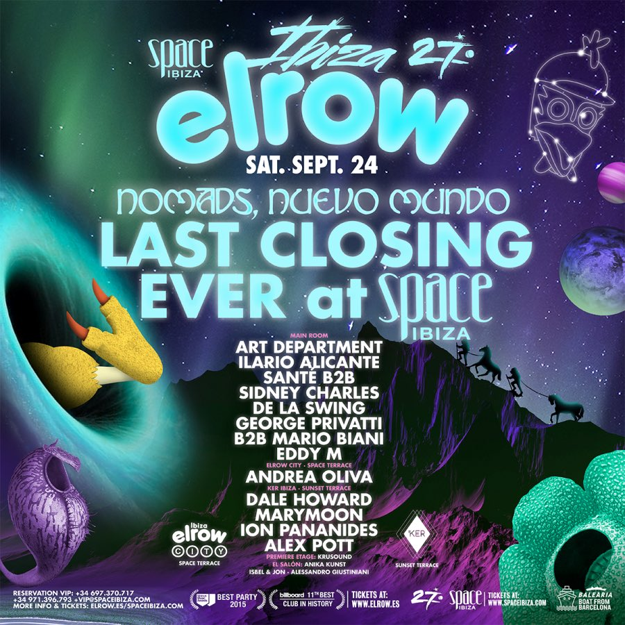 download → Eddy M - live at Elrow Ibiza 2016 Closing Party (Space, Ibiza) - 24-Sep-2016