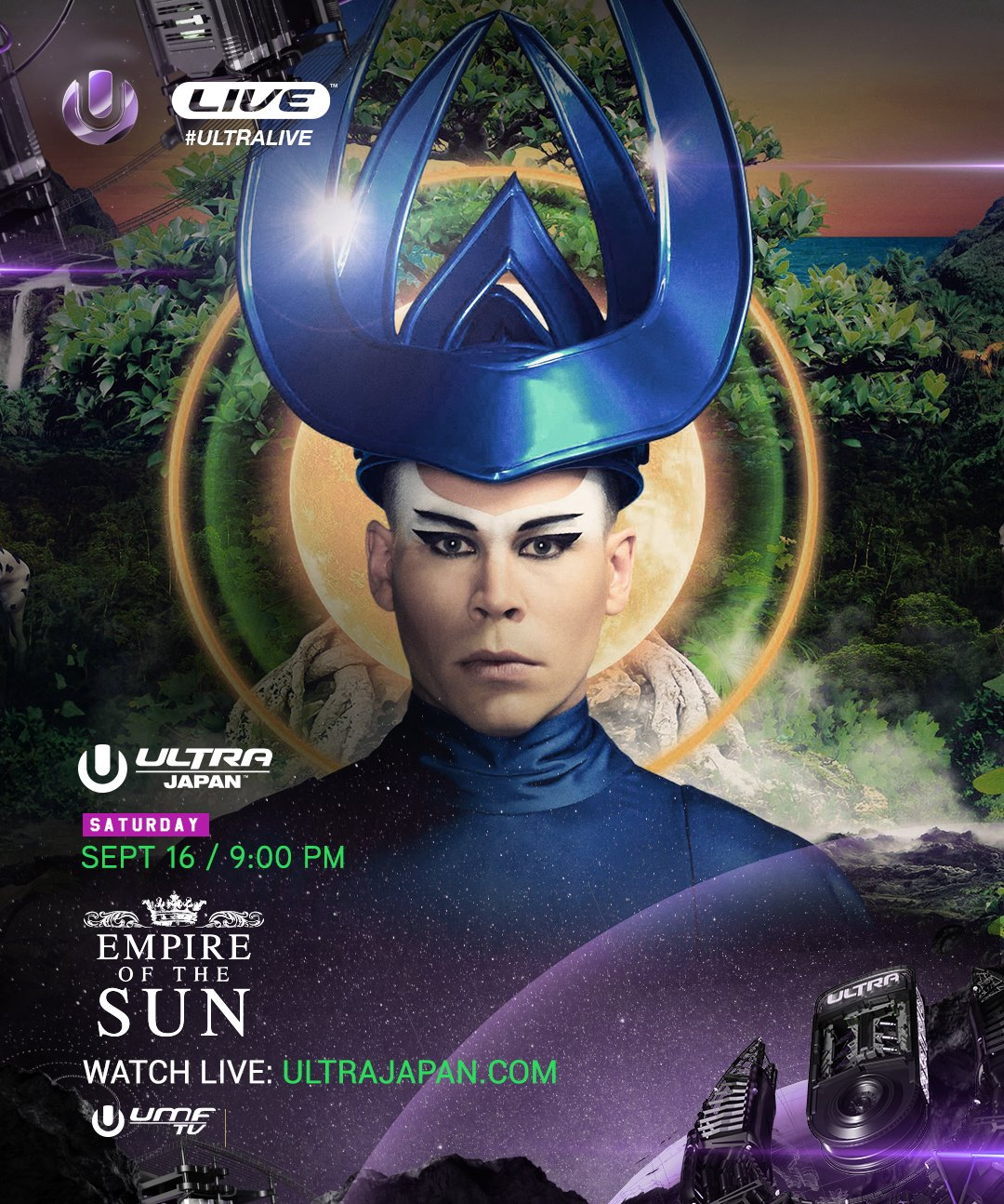 download → Empire Of The Sun - live at Ultra Music Festival 2017 (Japan) - 16-Sep-2017