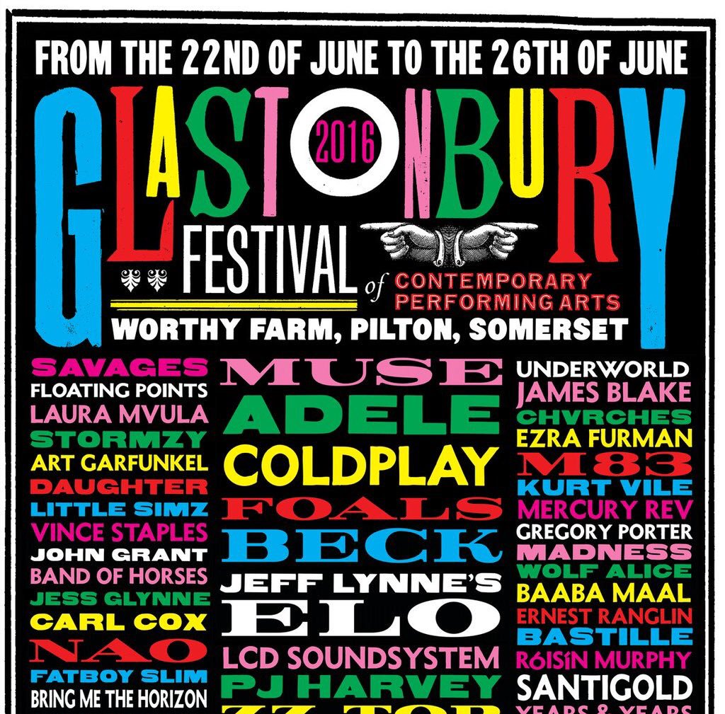 download → Fatboy Slim - live at Glastonbury Festival 2016 (UK) - June 2016