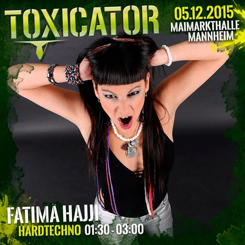 download → Fatima Hajji - live at Toxicator 2015 (Mannheim, Germany) - 05-Dec-2015