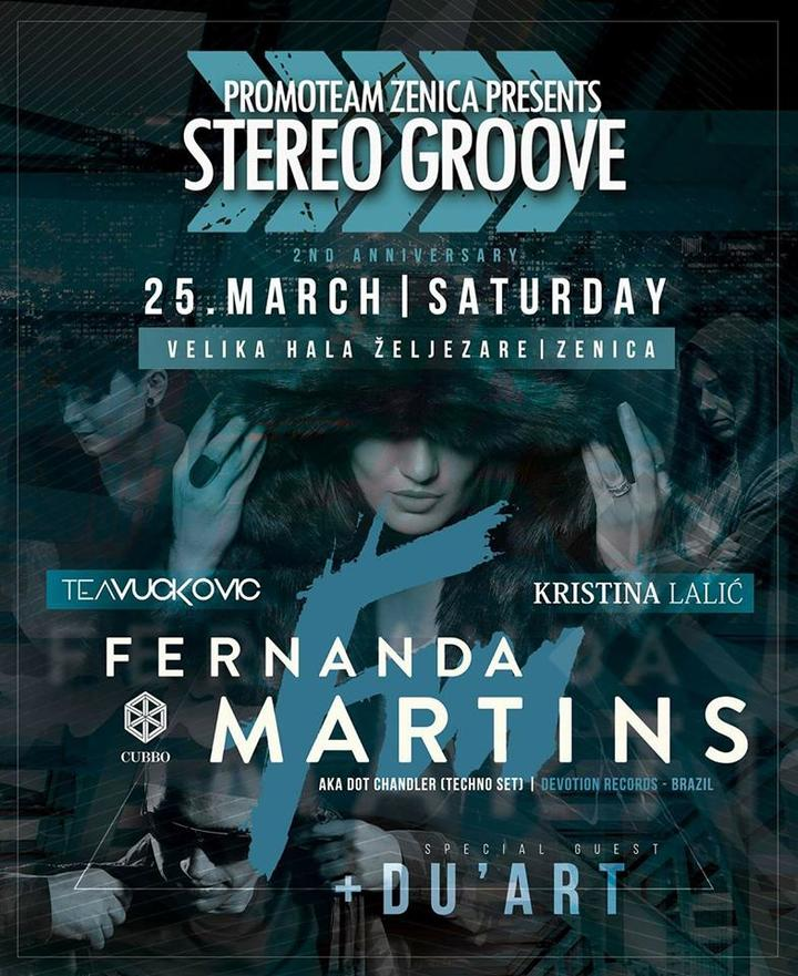 download → Fernanda Martins aka Dot Chandler - live at Stereo Groove (Bosnia and Herzegovina) - March 2017