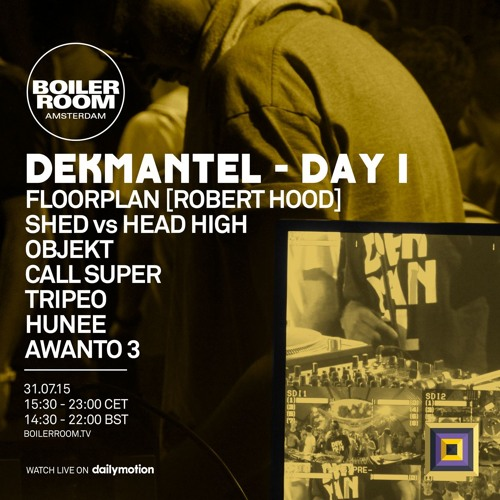 download → Floorplan (Robert Hood) - live at Boiler Room x Dekmantel Festival, Amsterdam - 31-Jul-2015