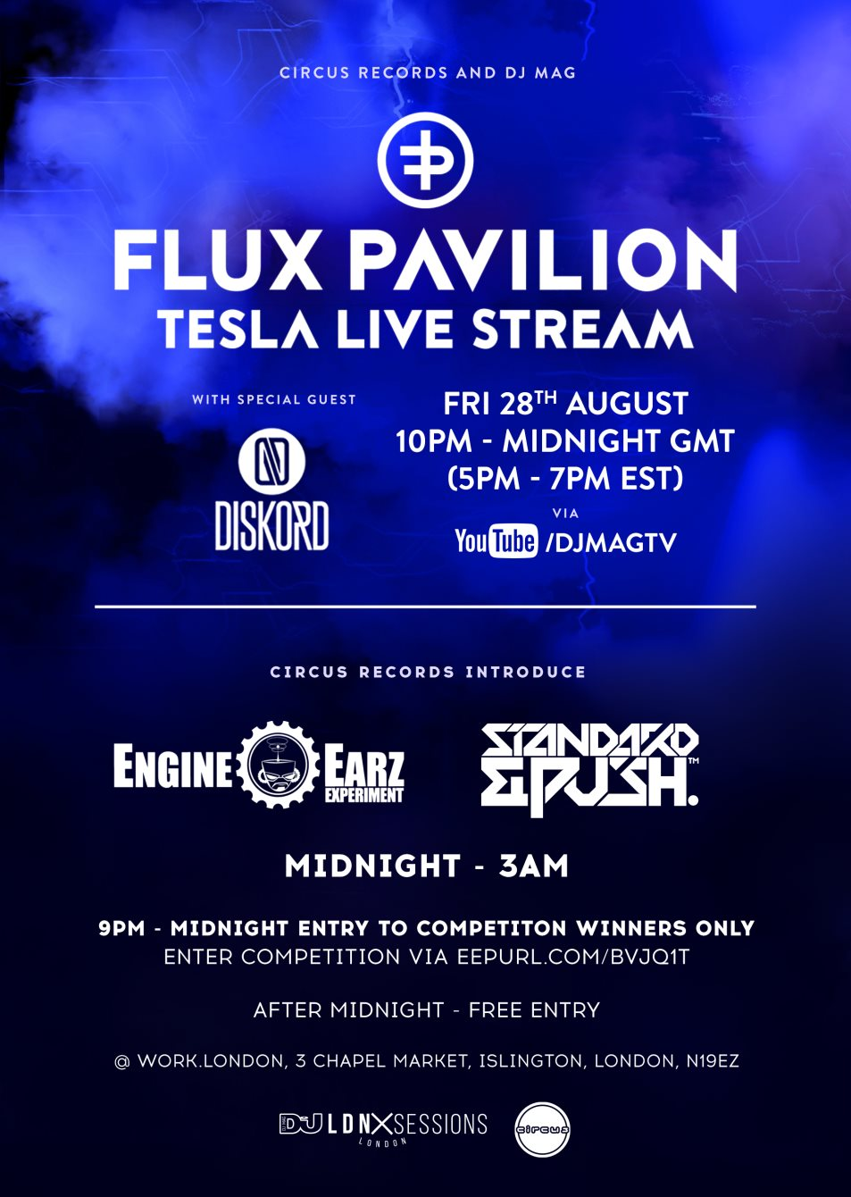 download → Flux Pavilion & Diskord - DJ Set at DJ Mag LDN Sessions - 28-Aug-2015