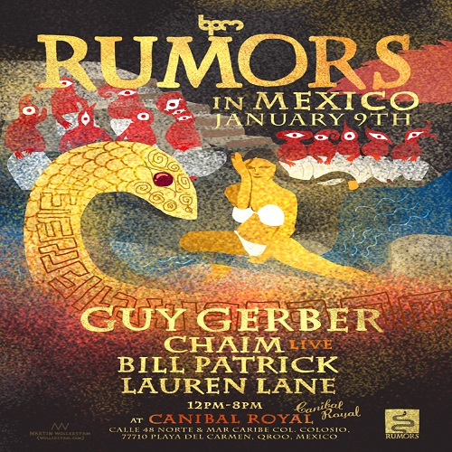 download → Guy Gerber  - Live At Rumors, Canibal Royal (The BPM Festival 2015, Mexico) - 09-Jan-2015