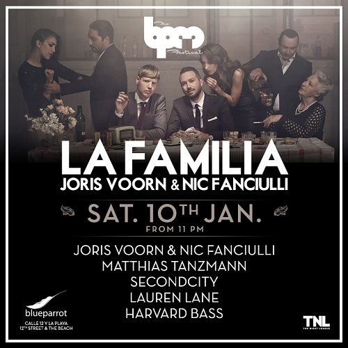 download → Joris Voorn & Nic Fanciulli  - Live At La Familia, Blue Parrot (The BPM Festival 2015, Mexico) - 10-Jan-2015