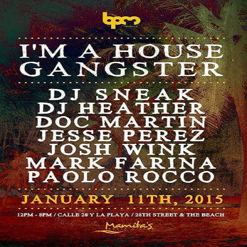 download → Mark Farina  - Live At Im A House Gangster, Mamitas (The BPM Festival 2015, Mexico) - 11-Jan-2015