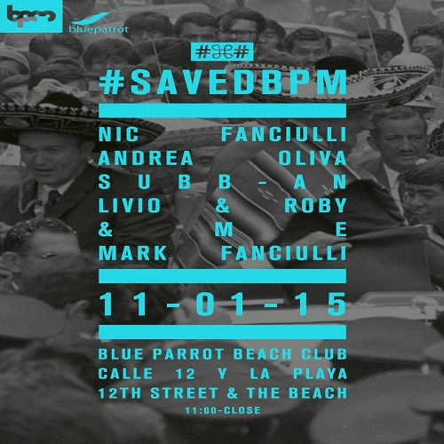 download → Subb-An  - Live At Saved, Blue Parrot (The BPM Festival 2015, Mexico) - 11-Jan-2015