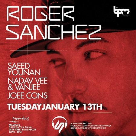 download → Roger Sanchez  - Live At Mamitas (The BPM Festival 2015, Mexico) - 13-Jan-2015