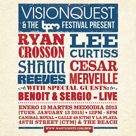 download → Visionquest  - Live At Visionquest, Canibal Royal (The BPM Festival 2015, Mexico) - 13-Jan-2015