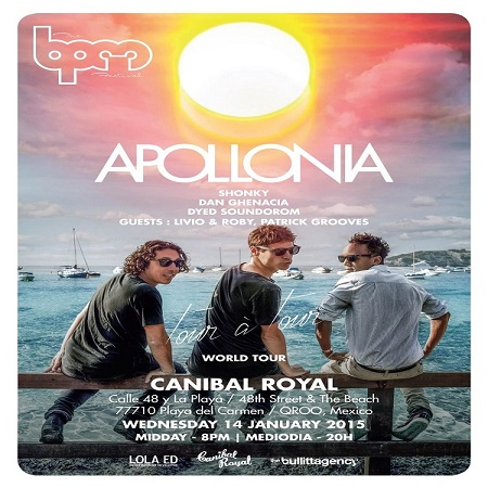 download → Apollonia  - Live At Apollonia, Canibal Royal (The BPM Festival 2015, Mexico) - 14-Jan-2015