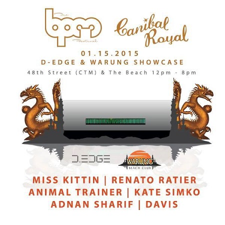 download → Animal Trainer  - Live At D Egde & Warung, Canibal Royal (The BPM Festival 2015, Mexico) - 15-Jan-2014