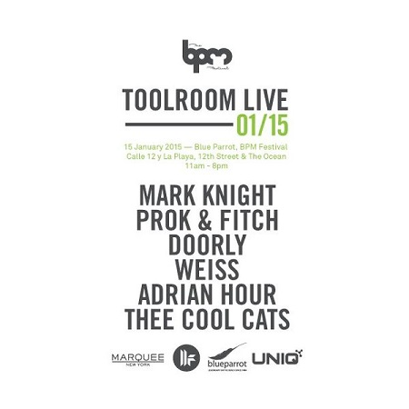 download → Adrian Hour  - Live At Toolroom Live, Blue Parrot (The BPM Festival 2015, Mexico) - 15-Jan-2015